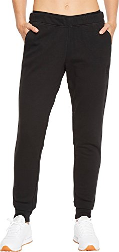 Reebok Womens French Terry Pants Black MD 31 31