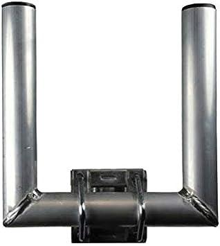 skyre VZ de Extensiones 50 cm Tubo de 42 mm con Dientes Abrazaderas barandilla de Brazo y – Antena parabólica de Poste de Brazo Z de Soporte para ...