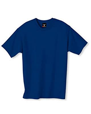 Hanes Men's 5180 6.1 Oz. Beefy T Deep Royal XL