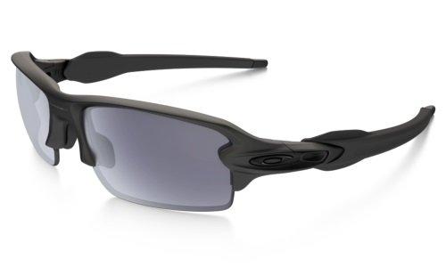 Oakley FLAK 2.0 XL shooting shades (Matte Black, Grey) by Oakley