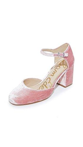 Sam Edelman Pump Clover Velvet Rose Faded Women's dd6xPqwtr