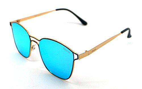 Sunglasses Mujer Calidad UV Gafas Alta Pkada PK3026 Hombre Sol 400 Azul de qxwptF8