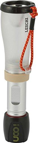 UCO Leschi Linterna LED compacta de 110 lúmenes con regulador de Intensidad y luz estroboscópica