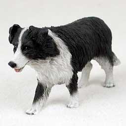 Conversation Concepts Border Collie Original Dog Figurine (4in-5in)