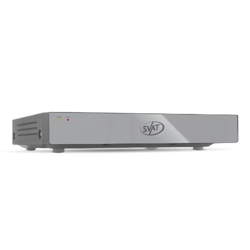 SVAT 8CH Smart Security DVR with 500 GB HDD & Smartphone Compatibility (11012)