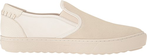 Coach Heren C115 Leer En Suede Slip-on Sneaker Krijt / Wit