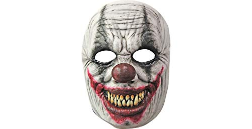 (Caretas Rev S.A. De C.V Creepy Grin Mask Halloween Costume Accessory, 11