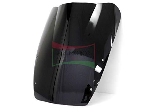 (Protek ABS Plastic Injection Black Smoke Double Bubble Transparent Windscreen Windshield for 1987 1988 1989 1990 1991 1992 1993 1994 1995 1996 1997 Suzuki Katana 600 750 1100 GSX600F GSX750F GSX1100F)