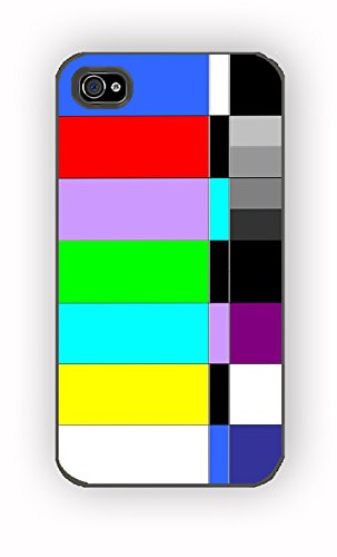 Tv Color Bars for iPhone 4/4S Case