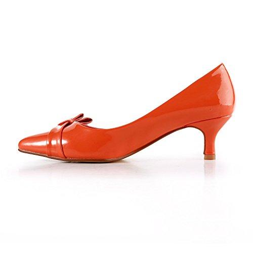 Sandalias Orange con mujer 5cm Heel Miyoopark cuña wzxIdw7