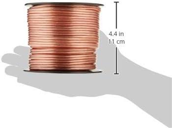 Pyle PSC16100 Cable para altavoces calibre 16, bobina de 30,48/m