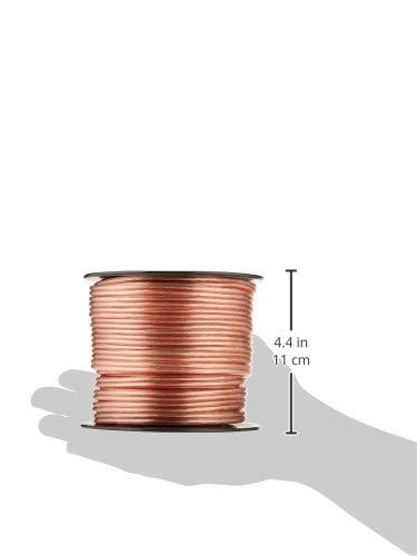Pyle PSC16500 16-Gauge 500-Feet Spool of High Quality Speaker Zip Wire