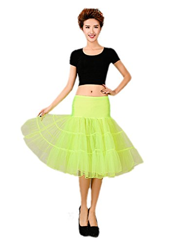 80 Themed Halloween Costume Ideas (Honeystore Women's 50s Vintage Rockabilly Petticoat, 26