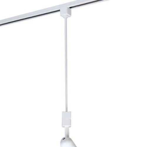 Nora Lighting NT-322 18'' Track Extension Rod, White