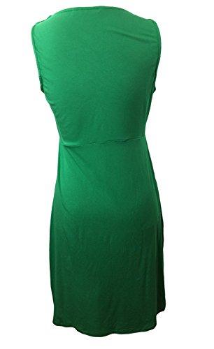 Vert Jersey Viscose Boden Doux Réunis Tunique Robe Wl722 Sz Nous 8