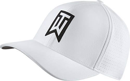 Nike TW AeroBill Classic 99 Performance Golf Cap 2018 White/Anthracite/White Medium/Large