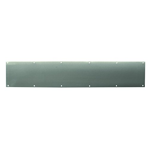 Prime-Line MP4708 Door Kick Plate, 6 X 34-Inch, Stainless Steel, Pack of ()