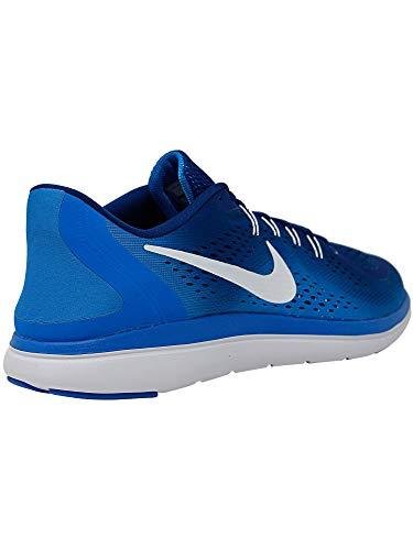 Multicolore 2017 Blanc Nike Chaussures Hommes 403 Bleu Photo Flex gym Binaire Running Rn EcYEBrq