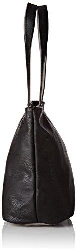 Le Temps des Cerises Elegance _ Ltc9345 - capazo Mujer Noir (Noir / Gris)