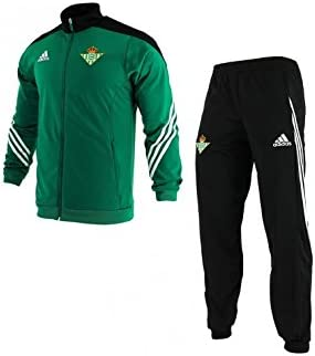 adidas PES Suit - Chándal Real Betis Balompie 1ª equipación 2015 ...