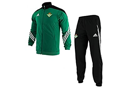 adidas PES Suit - Chándal Real Betis Balompie 1ª equipación 2015/2016 para Hombre,