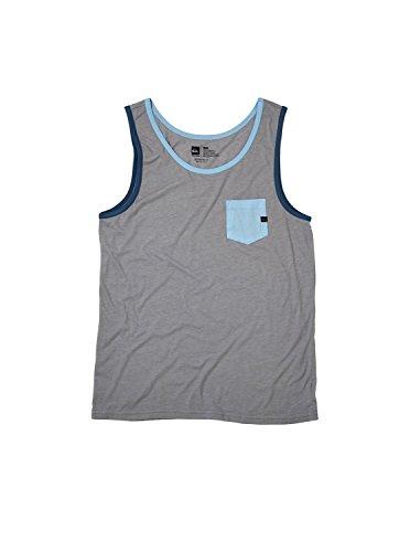 Haggis Heather (Quiksilver Men's Contender T-Shirt, Haggis Heather,)