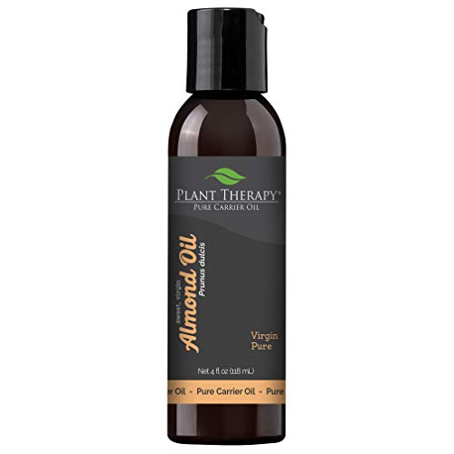 Almond Oil | For Skin, Hair, Body, Face & Baby | Natural Moisturizer, Massage & Aromatherapy Carrier Oil | 100% Pure, Cold Pressed California Almonds, Made In USA, 4 oz ()