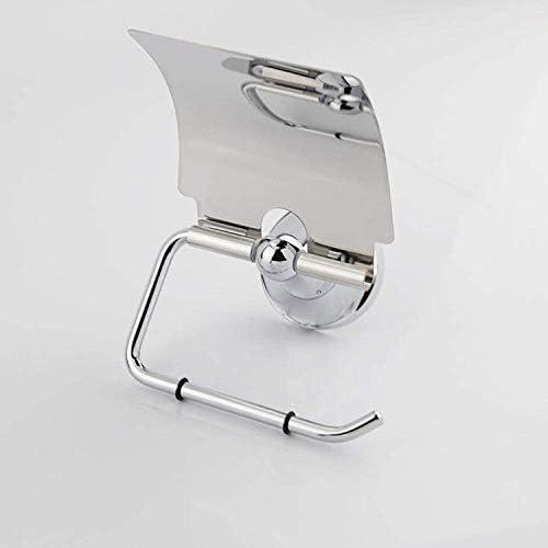 Nologo LZP-PP Halter Papierhandtuch Edelstahl-Badezimmer-Regal, Papierhandtuchhalter, Bad Regal, Küchenrollenhalter for Toilettenpapier
