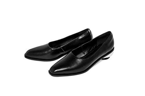 APL11189 Womens Shoes Casual Solid Black BalaMasa Pumps Urethane Huarache x1wqaBwn0F