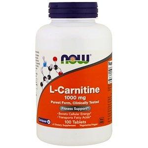 (L-Carnitine, 1000 mg, 100 Tablets)