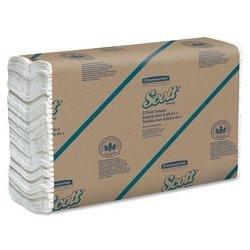 KCC01510 - Scott C-fold Paper Towels, 10 1/8 X 13 3/20, White -  KIMBERLY CLARK