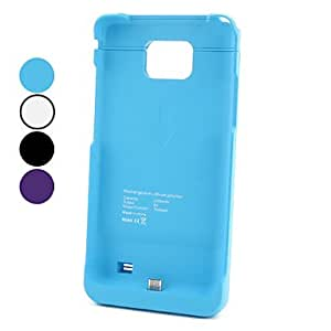 AES - External Battery for Samsung S2 i9100 (2200 mAh, Assorted Colors) , Blue