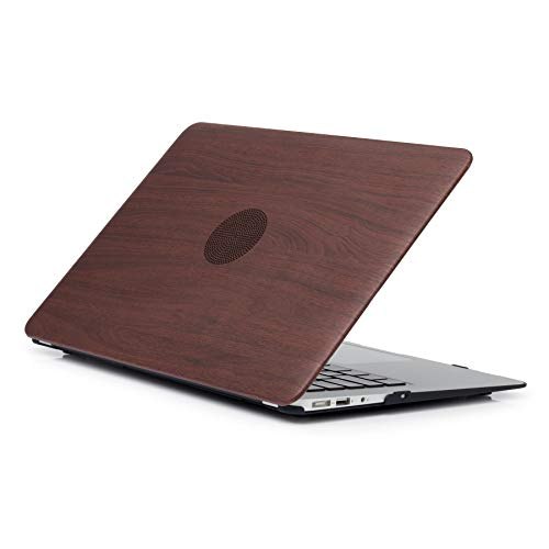 MacBook Retina Pro 15 Case (Model: A1398) - L2W Matte Plastic Rubber Coated Protective Shell Cover for MacBook Pro 15'' with Retina Display Not CD-ROM (2012-2015 Release) - Wood Texture Pattern 04 by L2W