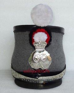Junglevibes British Shako Officers Helmet Royal Infantry Army 19 Century Reenactment Replica