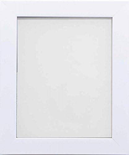 Frame Company Carlton Range 9x6-Inch White Picture Photo Frame, 30.86 x 23.240000000000002 x 3 cm