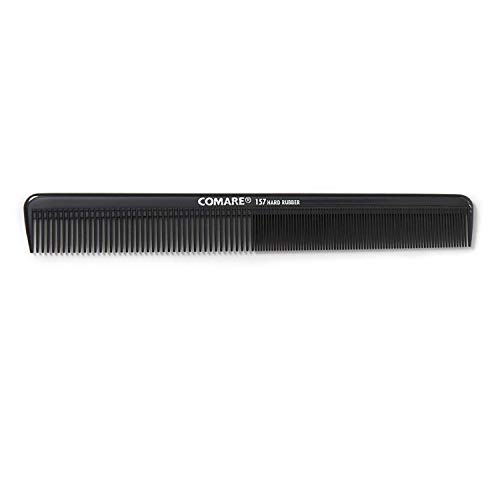 Comare Hard Rubber Styling Comb, 8 1/2 Inch