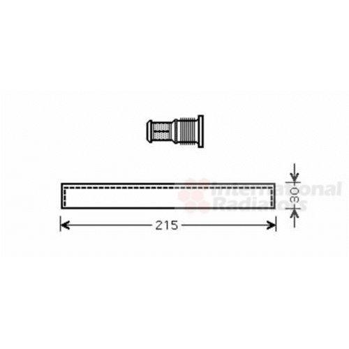 Van Wezel 5300D416 Trockner, Klimaanlage Van Wezel GmbH 36_5300D416