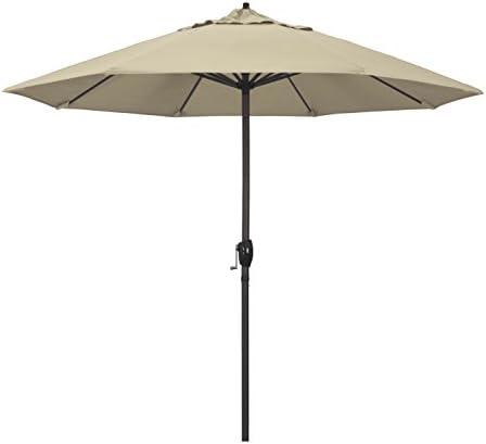 California Umbrella ATA908117-5422 9' Round Aluminum Market