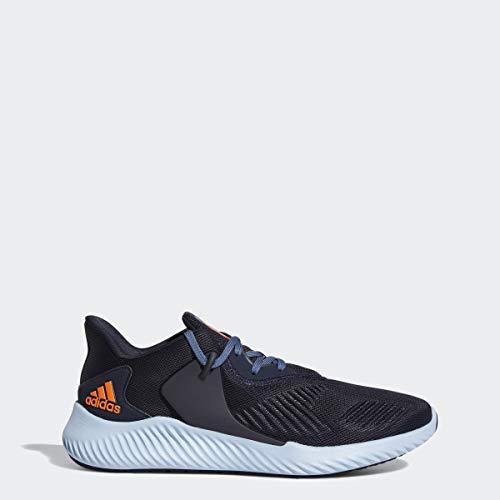 adidas Men's Alphabounce Rc 2 Running Shoe, Legend Ink/Solar Orange/Glow Blue, 9 M US