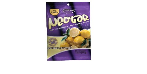 Syntrax Nectar Roadside Lemonade, Grab N Go, 12 Packets, 11.4 oz - Syntrax Nectar Crystal