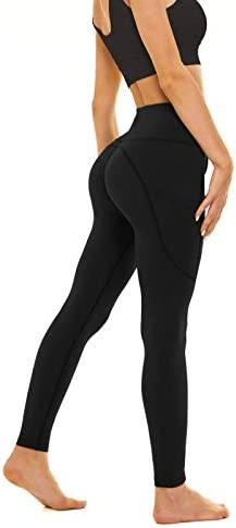 Relexioga Women's High Waisted Yoga Pants Naked Feeling Workout Leggings with Pockets 1