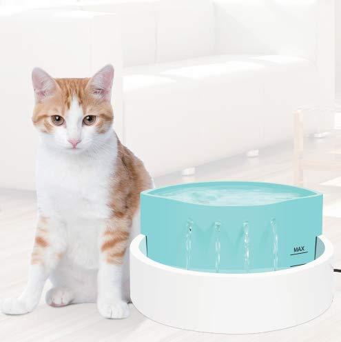 Tapis pour animaux-Pecute Panier Animaux Amovible imperméable à l\'eau (L, Bleu)