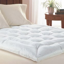 King Size Goose Feather Mattress Topper By Simply Bedding