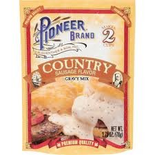 (Pioneer Brand Gravy Mix, Country Sausage, 2.75-ounce Packets (3 Packs))