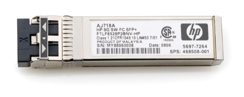 HP 8GB Short Wave Fc Sfp+ 1 Pack by HP