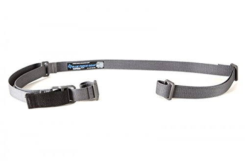Blue Force Gear Vickers Combat Applications Sling, Nylon Adjuster and Hardware (Wolf Gray) by Blue Force Gear