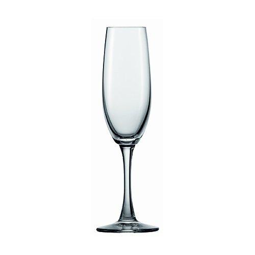Champagne Flutes Set, Spiegelau Champagne Flute Crystal - Four Modern Glasses