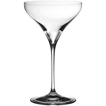 Riedel vitis martini glass set of 2 kitchen for Thin stem wine glasses