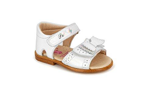 Pablosky 77700 - Sandalias con velcro  infantiles Blanco