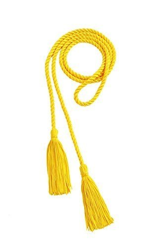 CollegeFashion Graduation Honor Cord, yellow-gold